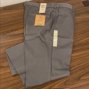 Men's Haggar Work to Weekend Straight Fit Khaki